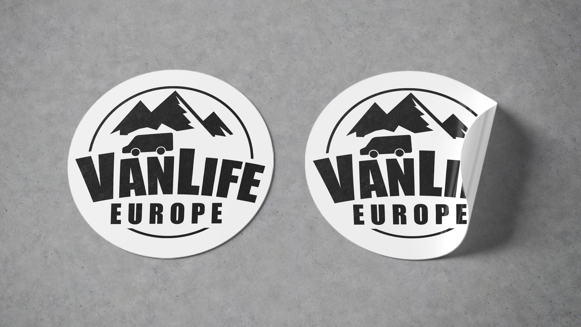 VanLife Europe Sticker