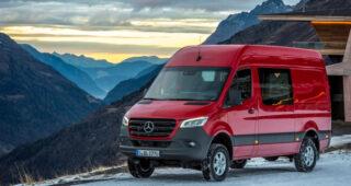 Is the new Mercedes Benz Sprinter 4×4 the ultimate off-road camper van?