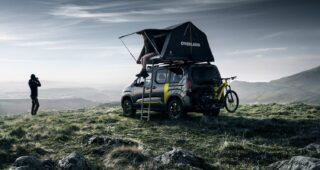 Peugeot's Ultra Cool 4x4 Camper Van Concept!