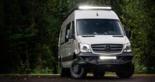 AMP Van, the ULTIMATE Mercedes Sprinter Campervan