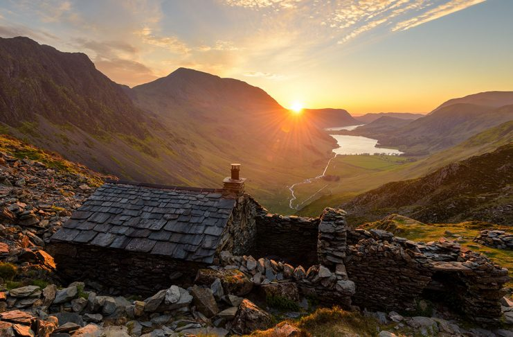 An absolutely breathtaking view of the Lake District in England
