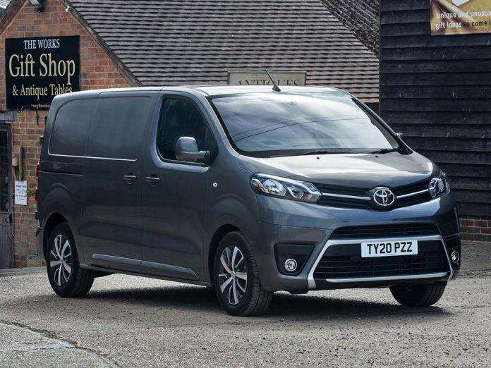 top medium van for campervan conversion Toyota Proace