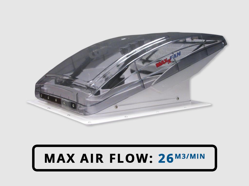 MaxxAir Deluxe 7500 Campervan RV Roof Vent