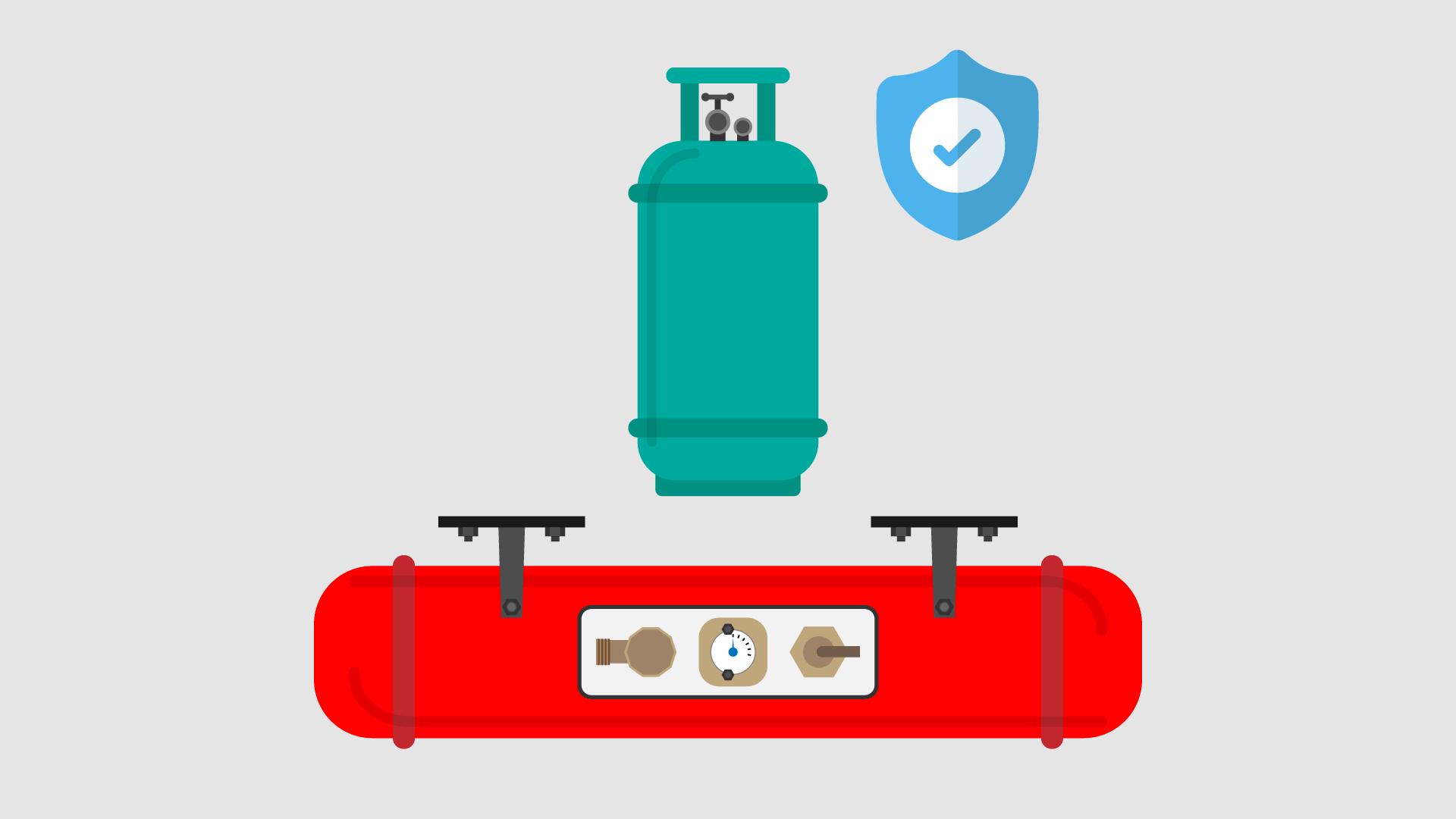 Are Gas Cylinders Safe In A Campervan RV Motorhome Caravan