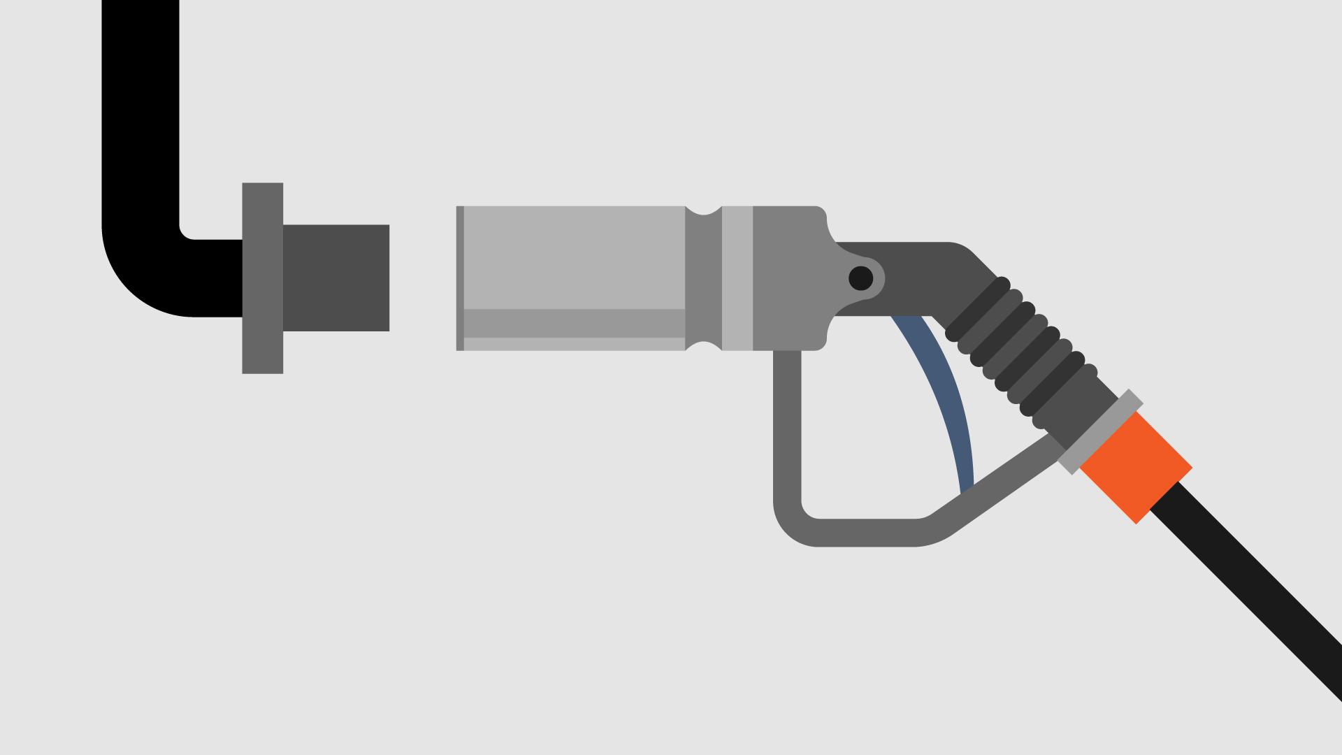 Gas Refilling Hose Nozzle