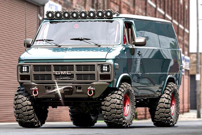 GMC Vandura Concept Van