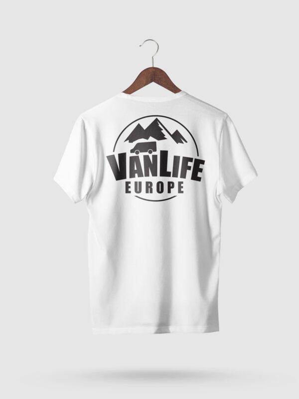 VanLife Europe Campervan T-Shirt