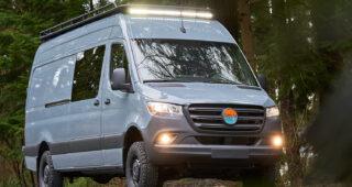 Nomad Vanz: Bodhi - Mercedes Sprinter 4x4 Campervan