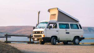 feature hire campervan