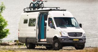 Next-Gen by Outside Van: Brilliant Mercedes 4x4 Campervan