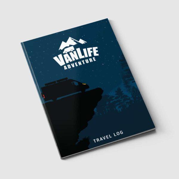 vanlife travel log campervan book journal 6 1000