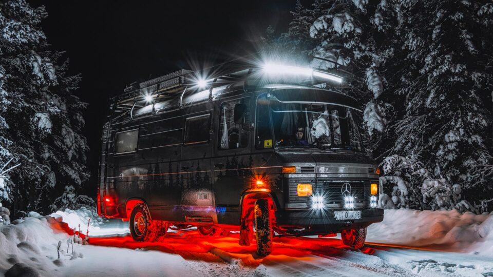 Beelzebus: An Epic Mercedes 508d Campervan from Sweden