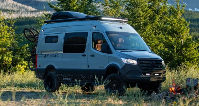Mercedes Sprinter 4x4 Campervan