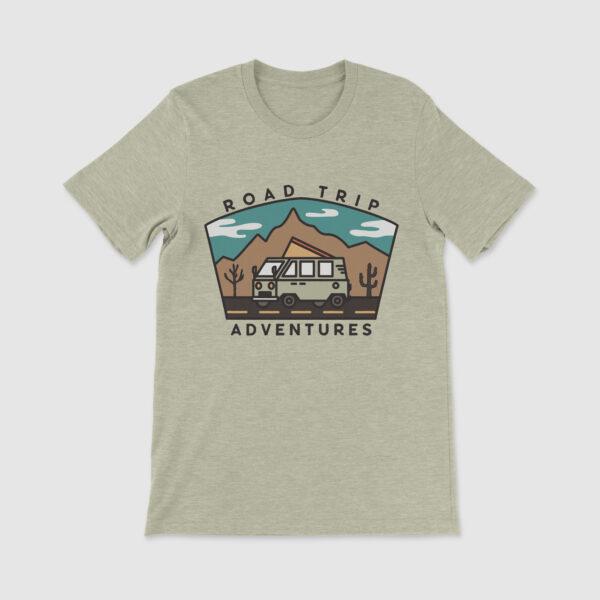 Campervan T-Shirt Road Trip Adventures
