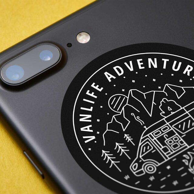 VanLife Adventure Sticker
