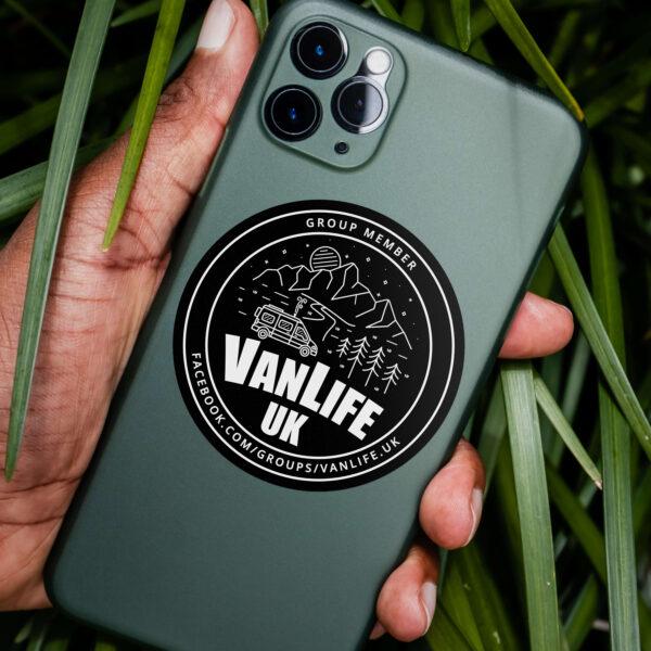 VanLife UK Group Sticker