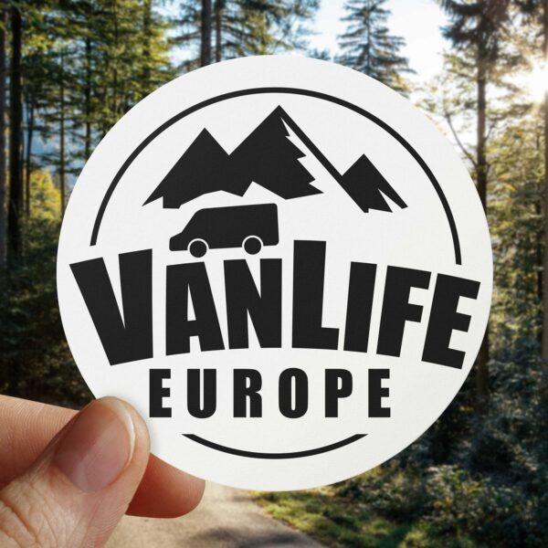 VanLife Europe Facebook Sticker Campervan Decal